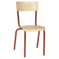 Chaise scolaire - Taille 6 - bleu