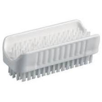 Brosse a ongles alimentaire 2 faces avec poignee